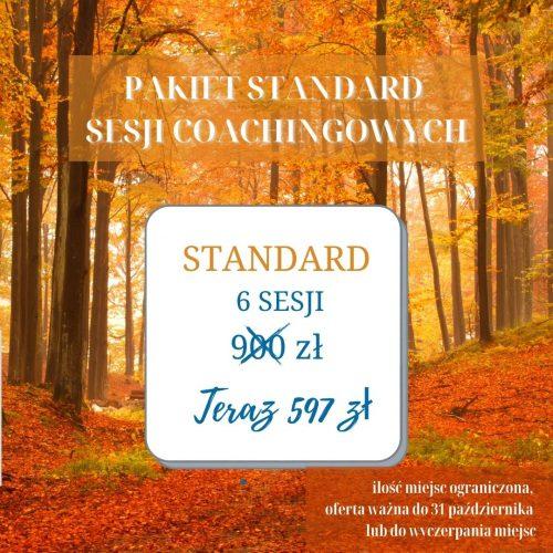pakiet standard sesji coachingowych